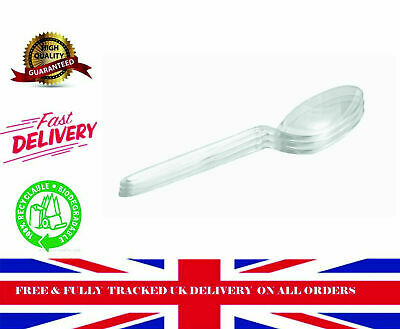 500 CUT-PSC Deluxe Clear Soup Spoons Food packaging
