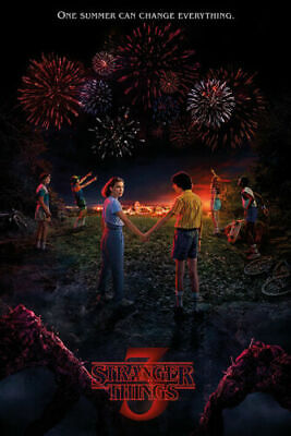 STRANGER THINGS SEASON Art Silk Poster 12x18 24x36