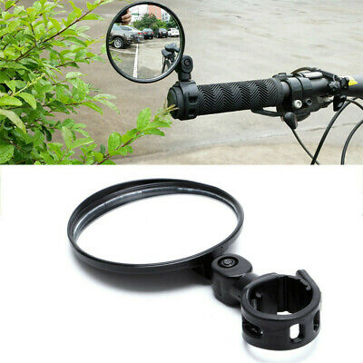 360° Flexible Safe Bicycle Rearview Cycling Bike Handlebar Rear View Mirror New
