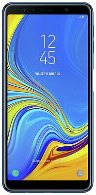 SIM Free Samsung Galaxy A7 6 Inch 64GB 4GB 24MP 4G Android Mobile Phone - Blue
