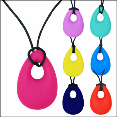 Chewelry Chewy Necklace Autism ADHD Biting Sensory Chews Teething Toy UK