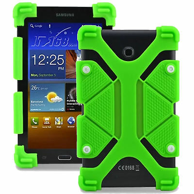 """Universal Silicone Rubber Cover Case Stand Fits Lenovo Tab E10 10.1""""inch Tablet"""