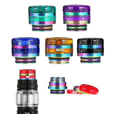 810 Drip Tip Epoxy Snake Skin Resin Mouthpiece Cap for Zues X TFV8 Baby