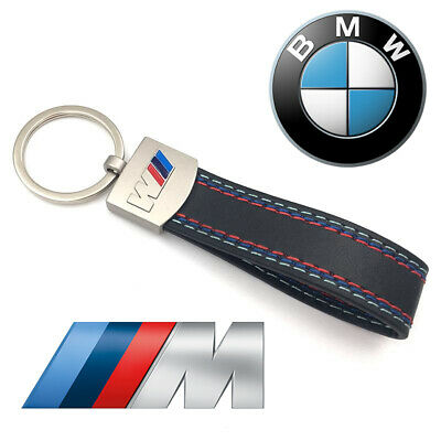 BMW M3 Leather and Metal Key Ring with Gift Box