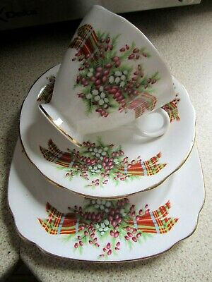 Vintage Windsor Bone China,Trio Lovely Condition,Cup, Saucer,Side Plate,Vgc