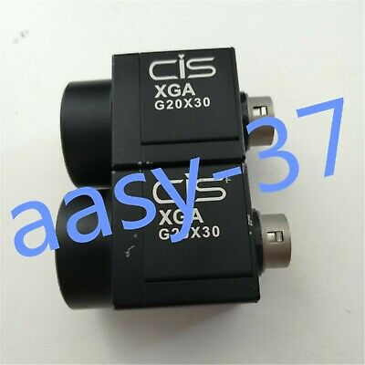 1PCS CIS VCC-G20V30A industrial black and white camera in good condition