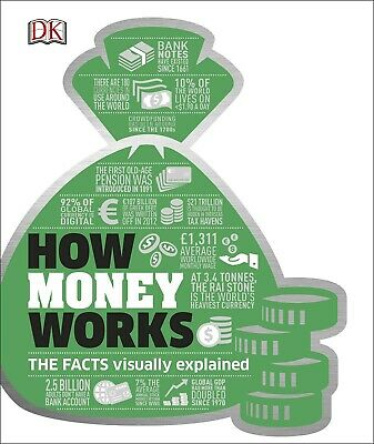 How Money Works The Facts Visually Explained by DK Pensions Hardback NEW