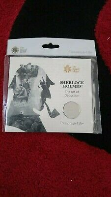 Royal Mint 2019 Sherlock Holmes 50p Brilliant Uncirculated coin
