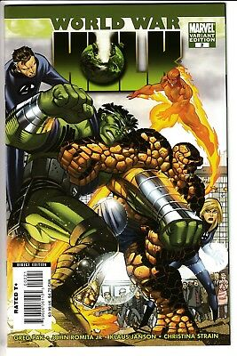 WORLD WAR HULK #2, JOHN ROMITA JR 1:25 VARIANT, New, Marvel Comics (2007)