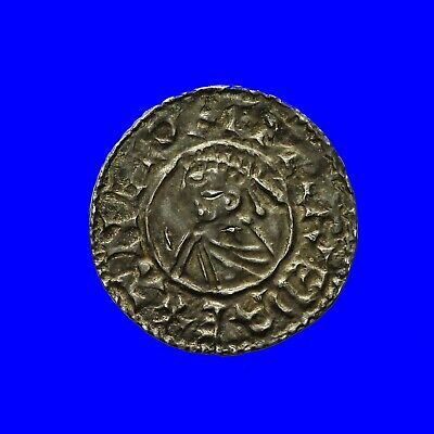 Saxon Aethelred ii Last Small Cross type penny  Winchester mint  S1154