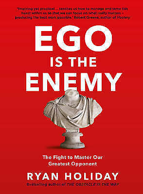 Ego is the Enemy by Ryan Holiday (HARDCOVER, NEW, RARE) FREE postage