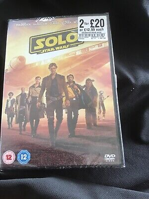 SOLO A Star Wars Story DVD. New & Sealed