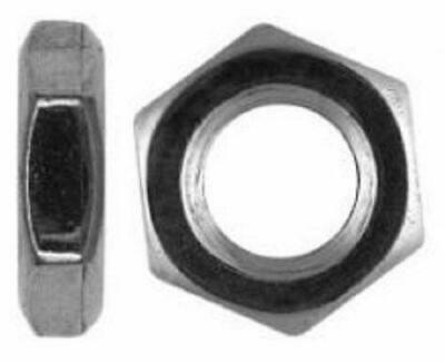 Fine Pitch Thread Hexagon Half / Thin / Lock Nuts Metric A2 Stainless Steel