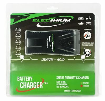 Chargeur Automatique Batterie Moto Scooter Jet - batterie Lithium & Acide