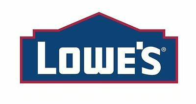 $10 LoweS GIift Card . use in store only mail delivery