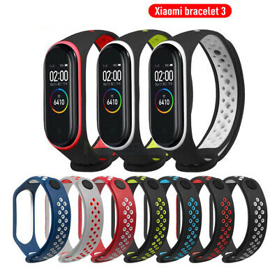 Silicone Watchband Replacement Smart Band Strap Bracelet For Xiaomi Mi Band 3