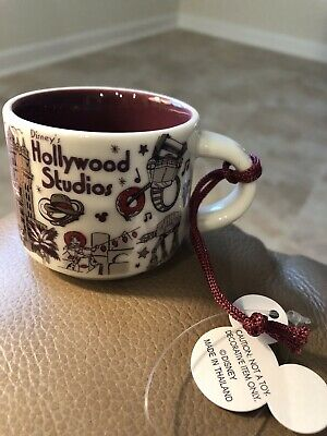Disney Starbucks Hollywood Studios Been There Ornament Mug - 2019 - Disney Parks