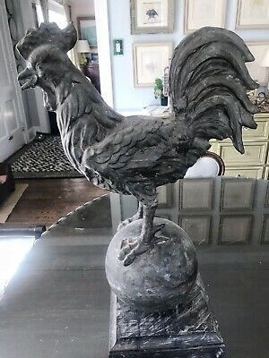 Antique 19th c. French Rooster Weathervane