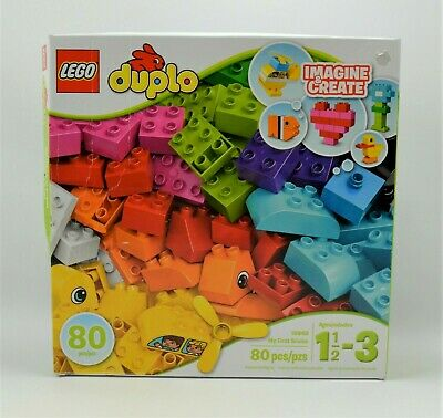 LEGO Duplo My First Bricks 10848 Building Set !! 80 Pieces - NIB