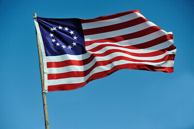 3*5 Ft Betsy Ross USA American 13 Star Flag Indoor Outdoor Home Decor Collection