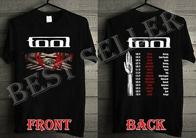 LIMITED TOOL Band Tour 2019 T Shirt Size S-2XL Men's Women's