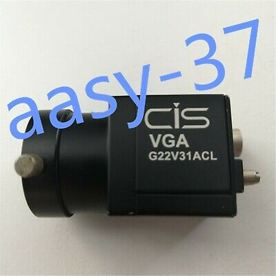 1PC CIS VCC-G22V31ACL black and white CCD industrial camera DC12V 2.5W tested