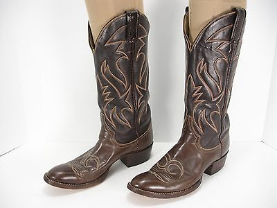 4917ce48bab NIB VINTAGE LARRY Mahan Womens Western Boots Full Quill Ostrich Sz ...