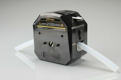 0-6000ml/min Industrial Peristaltic Pump Head High Flow Chemicals Resistant