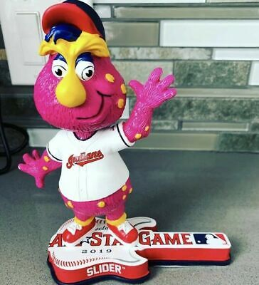Slider (Cleveland Indians) MLB Mascot 2019 All Star Game Bobblehead By FOCO NEW