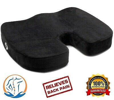 Office Chair Pillow Memory Foam Car Ultra-Soft Orthopedic Cushion Relieve Pain