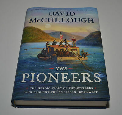 DAVID McCULLOUGH The Pioneers Hand Signed NEWEST HARDBACK BOOK Autograph