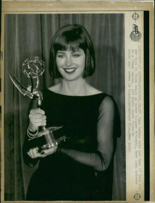 Actress Dana Delany with her Emmy Awards - Vintage photo