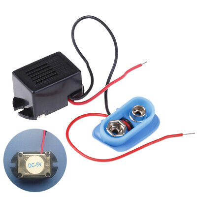 Mechanical buzzer 9V with lead vibrating buzzer 22x16x14mm with battery holderH~