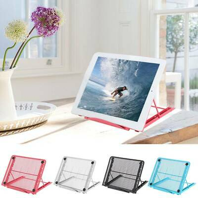 Adjustable Laptop Stand Portable Stand Desk Riser Tablet Holder Cooling Tray AU