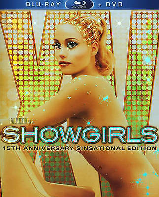 Showgirls: 15th Anniversary [Blu-ray + DVD] Elizabeth Berkley, Kyle MacLachlan,