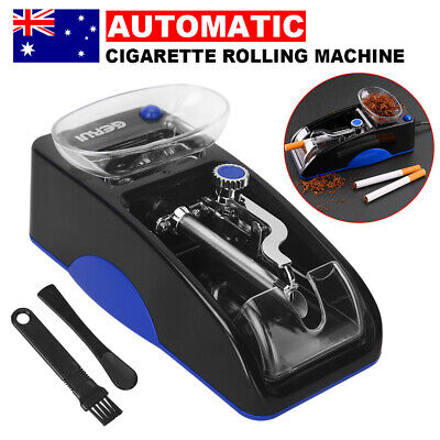 Automatic Cigarette Rolling Machine Electric Tobacco Injector Maker Roller Case
