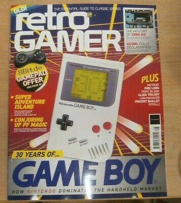 Retro Gamer magazine #196 2019 Nintendo Gameboy 30th Anniversary + 2000AD, XCOM