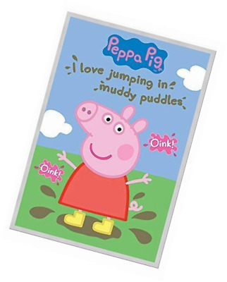 Official Peppa Pig Muddy Puddles Oink Oink Maxi Poster 91.5 x 61cm Mr Elephant