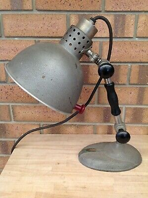 Vintage Stanford Industrial Table/Desk Lamp, Lamps, Lighting, Collectable