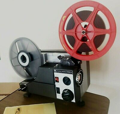Sankyo Dualux 2000H Dual SUPER 8 8MM CINE PROJECTOR Fully serviced