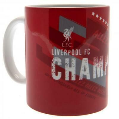 Liverpool Fc Red Ceramic Coffee Cup Champions Of Europe Mug