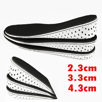 Insole Heel Lift Insert Shoe Pad Height Increase Cushion Elevator TalleRKCA