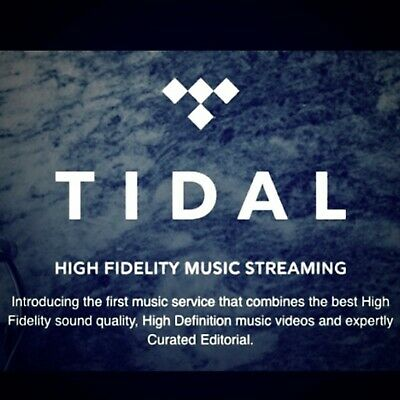 💥 TIDAL Hi-Fi ✳️ Deutsch Musik ✳️ 3 MONTHS 6 Users ✅ better than spotify deezer