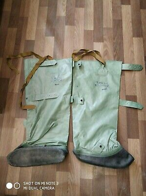 Soviet military army chemical protection rubber boots