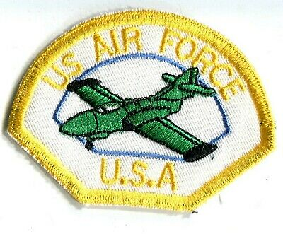 ARMEE USA US AIR FORCE aviation avion mirage  vert écusson / patch 8 x 6 cm