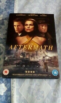The Aftermath DVD 2019 in a slip cover, been watched only once