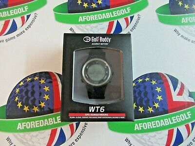 Golf Buddy Wt6 Gps Watch Pre-Loaded With 38,000 Golf Courses