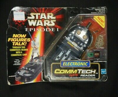 Hasbro Star Wars Commtech Reader Action Figure electronic .