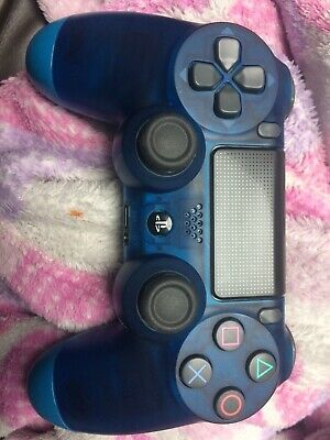 PS4 PlayStation Wireless Controller Bluetooth Gamepad (V2) Crystal Blue