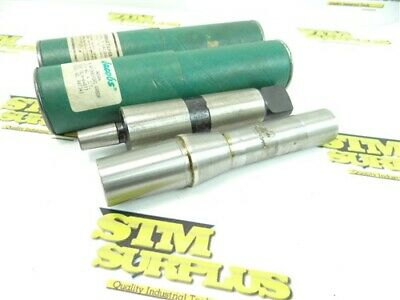 New Pair Of Precision Jacobs Drill Chuck Arbors R8 To 4Jt & 4Mt To 2Jt